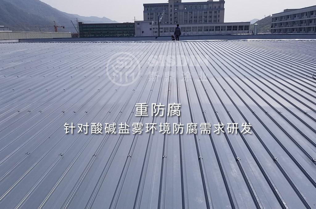 重防腐耐酸碱盐雾的斯鼎CW耐久型彩钢瓦翻新专用漆